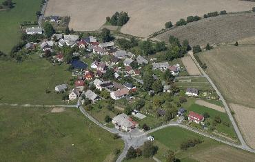 Letecké fotografie Odranec