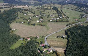 Letecké fotografie Koníkov