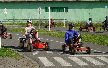 Dětské dopravní hřiště v Poličce